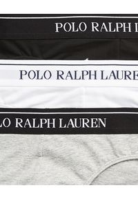 Ralph Lauren - RALPH LAUREN - Slipy 3-pack. Kolor: szary. Materiał: bawełna, materiał