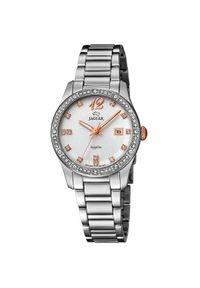 Srebrny zegarek Jaguar