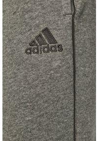 adidas Performance - Spodnie. Kolor: szary