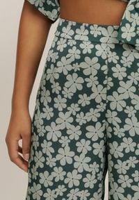 Renee - Zielone Spodnie Ziahra. Kolor: zielony