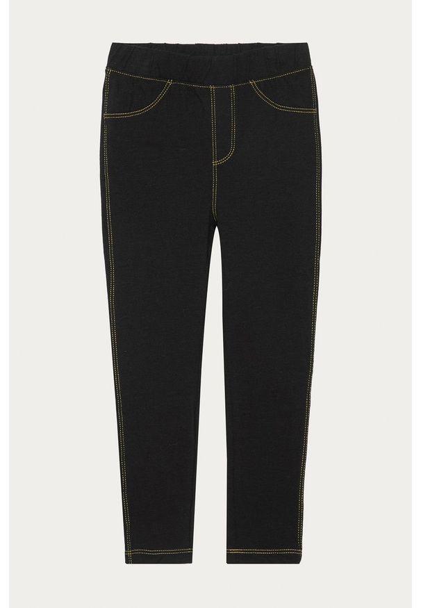 Czarne jeansy GAP w kolorowe wzory