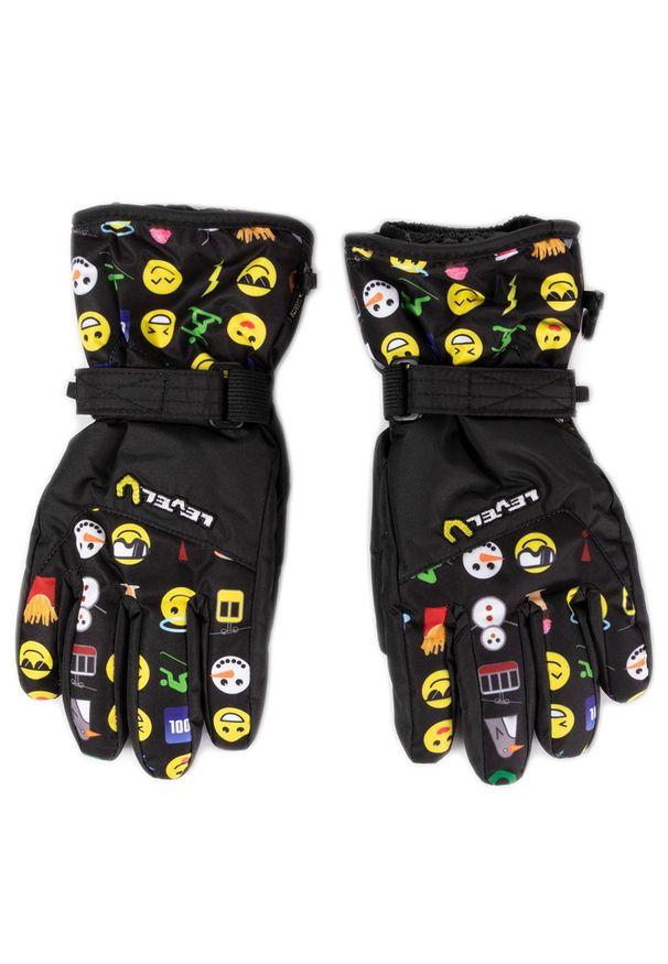 Czarna rękawiczka sportowa Level narciarska