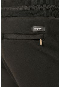 Czarne spodnie Desigual