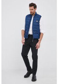 Pepe Jeans - Bezrękawnik Heinrich Vest. Okazja: na co dzień. Kolor: niebieski. Długość rękawa: bez rękawów. Styl: casual