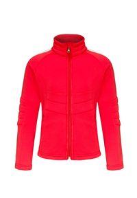 Czerwona bluza Poivre Blanc z kontrastowym kołnierzykiem