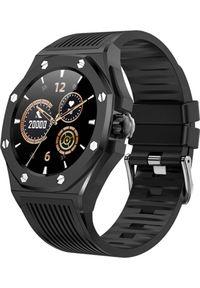 Smartwatch Kumi GW20 Czarny (GW20B). Rodzaj zegarka: smartwatch. Kolor: czarny