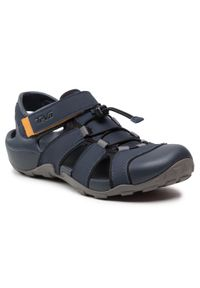 Niebieskie sandały trekkingowe Teva na lato