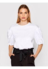 Imperial Bluzka TI90BAR Biały Regular Fit. Kolor: biały