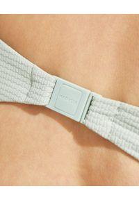 MARYSIA SWIM - Top od bikini Venice. Stan: podwyższony. Kolor: szary. Materiał: tkanina. Wzór: gładki