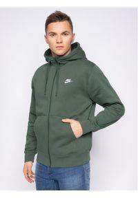 Nike Bluza Sportswear Club Fleece BV2645 Zielony Standard Fit. Kolor: zielony