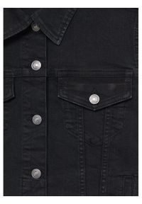 mango - Mango Kurtka jeansowa Vicky 87014753 Czarny Regular Fit. Kolor: czarny. Materiał: jeans