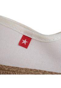 Białe półbuty Big-Star na płaskiej podeszwie, z cholewką