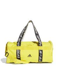Żółta torba sportowa Adidas