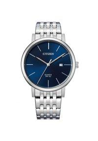 CITIZEN ZEGAREK Elegance BI5070-57L. Rodzaj zegarka: analogowe. Materiał: materiał. Styl: klasyczny, elegancki