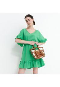 Zielona sukienka House