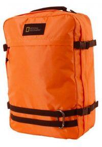 Pomarańczowy plecak na laptopa National Geographic