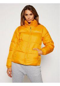 Pomarańczowa kurtka zimowa columbia