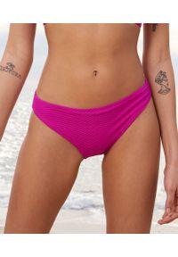 Vahine Majtki Bikini Od Kostiumu Kąpielowego - Fuksja - Etam. Kolor: różowy. Materiał: materiał, tkanina