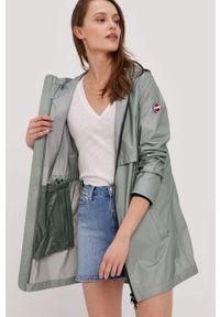 Zielona kurtka Colmar z kapturem, na co dzień, casualowa