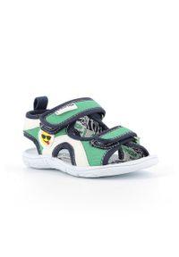 Zielone sandały Primigi na rzepy
