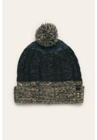 Niebieska czapka Blend melanż