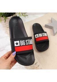 Czarne klapki Big-Star na plażę