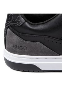 Czarne półbuty Hugo