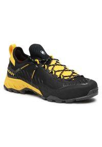 Czarne buty trekkingowe Mammut trekkingowe, Gore-Tex