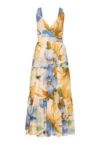 Sukienka wieczorowa TwinSet w kolorowe wzory