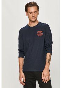 Niebieski t-shirt Tom Tailor casualowy, na co dzień