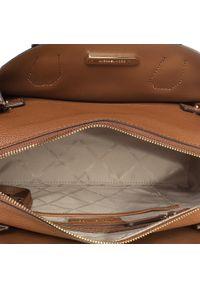 Brązowa torebka klasyczna Michael Kors klasyczna