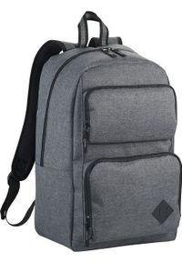 Szary plecak na laptopa Upominkarnia