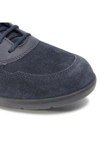 Geox Sneakersy U Leitan H U043QH 022ME C4002 Granatowy. Kolor: niebieski