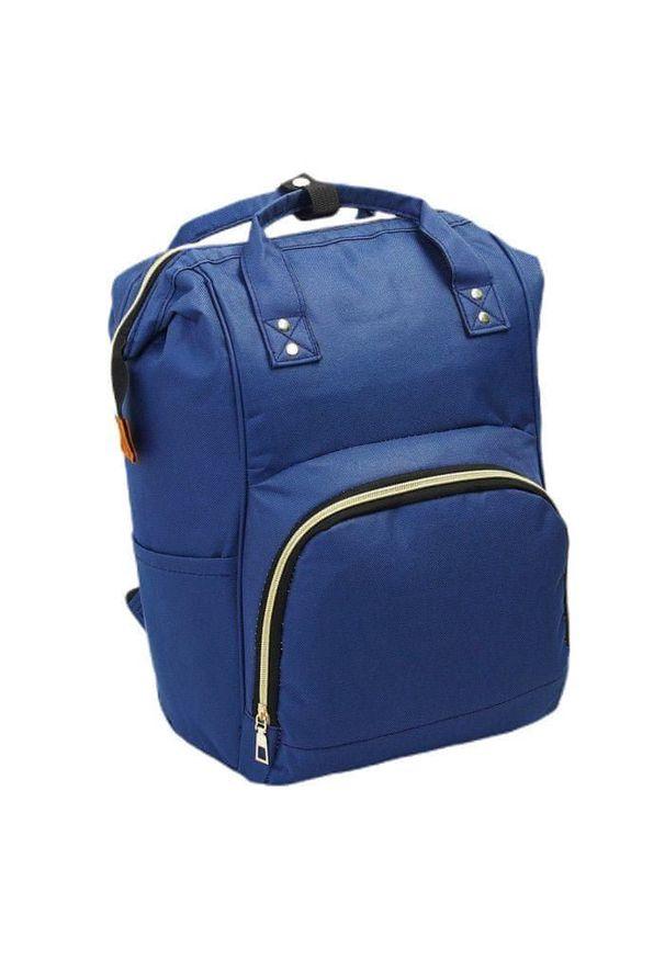 Niebieska torba podróżna