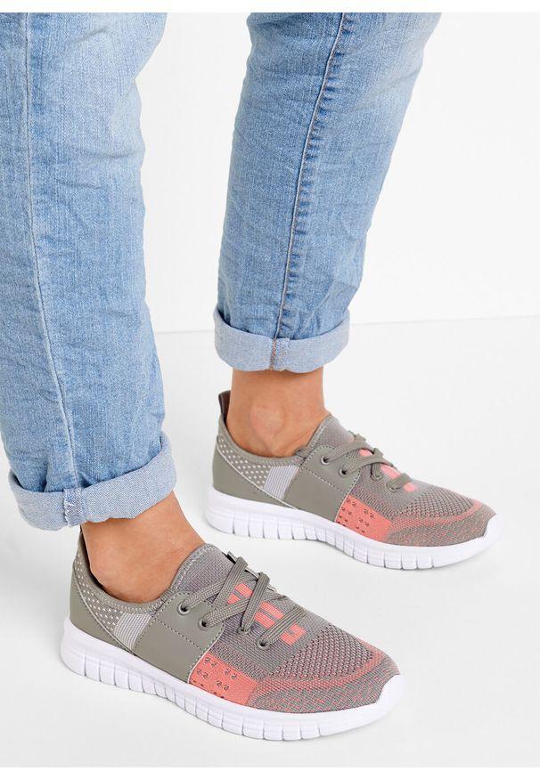 Szare buty sportowe bonprix melanż