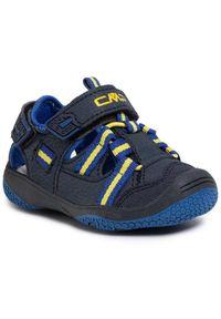 CMP Sandały Baby Naboo Hiking Sandal 30Q9552 Granatowy. Kolor: niebieski