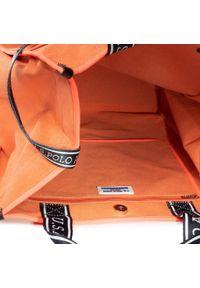 Pomarańczowa shopperka U.S. Polo Assn