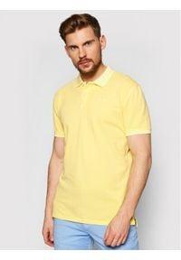 Pepe Jeans Polo Vincent Gd PM541225 Żółty Slim Fit. Typ kołnierza: polo. Kolor: żółty