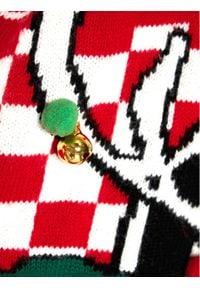 Little Marc Jacobs Sweter W15529 S Czerwony Regular Fit. Kolor: czerwony #7