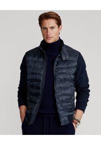 Niebieska kurtka Ralph Lauren z haftami, polo