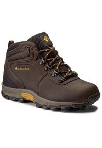 columbia - Columbia Trzewiki Youth Newton Ridge BY2852 Brązowy. Kolor: brązowy
