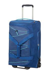 Niebieska torba podróżna AMERICAN TOURISTER
