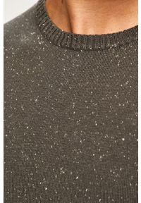 Szary sweter PRODUKT by Jack & Jones casualowy, z okrągłym kołnierzem, na co dzień #6