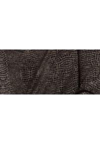 TOP SECRET - Bluzka z dekoltem typu woda. Okazja: na co dzień. Kolor: czarny. Materiał: materiał. Długość: długie. Sezon: wiosna. Styl: casual
