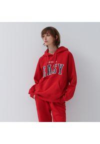 House - Bluza z kapturem Take It Easy - Czerwony. Typ kołnierza: kaptur. Kolor: czerwony