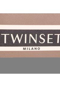 Brązowa torebka klasyczna TwinSet klasyczna