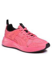 Różowe buty sportowe Puma na co dzień, z cholewką, do biegania