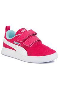 Puma Sneakersy Courtflex v2 Mesh V PS 37175802 Różowy. Kolor: różowy. Materiał: mesh