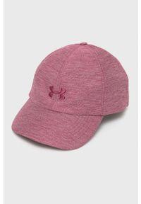 Under Armour - Czapka/kapelusz 1353506. Kolor: różowy