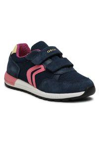 Geox Sneakersy J Alben G. A J15AQA 01422 C4002 S Granatowy. Kolor: niebieski